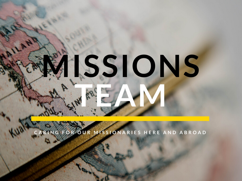 Missions Team Meeting