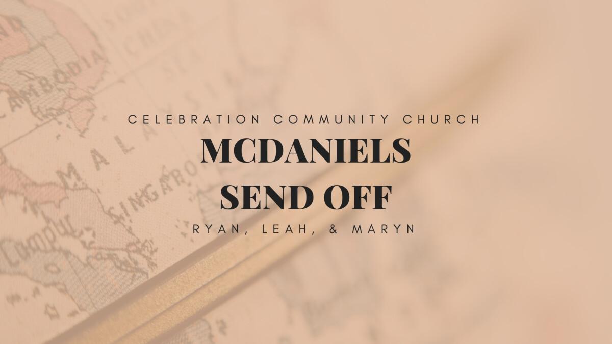 McDaniel Celebration Send-off