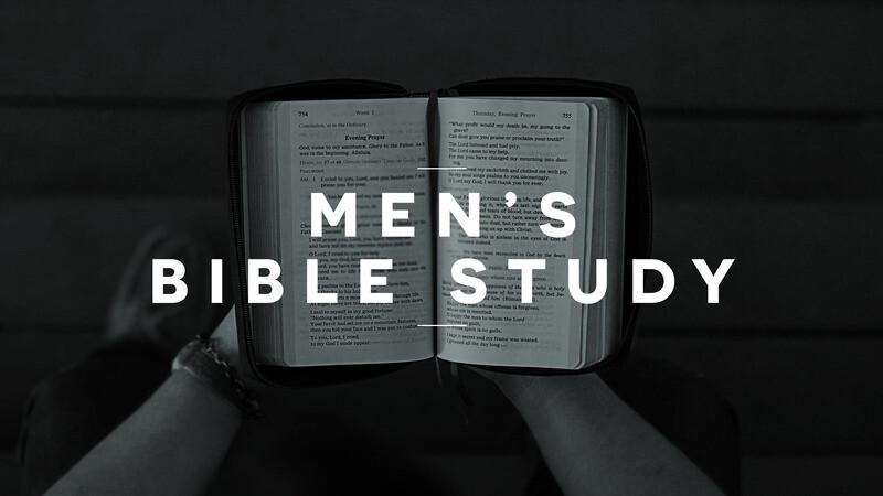 Men's Summer Bible Study - Thursday Mornings