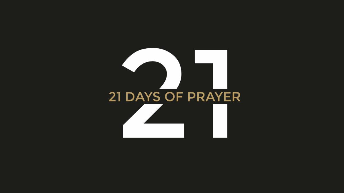 21 Days of Prayer ONLINE