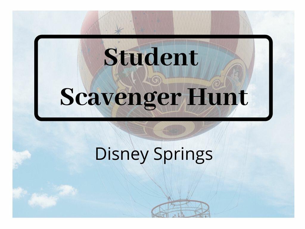 Pursuit Scavenger Hunt