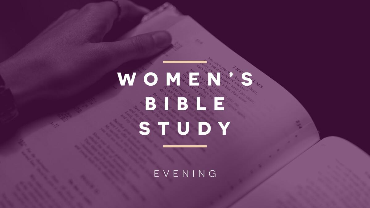 Women's Evening ZOOM Summer Bible Study