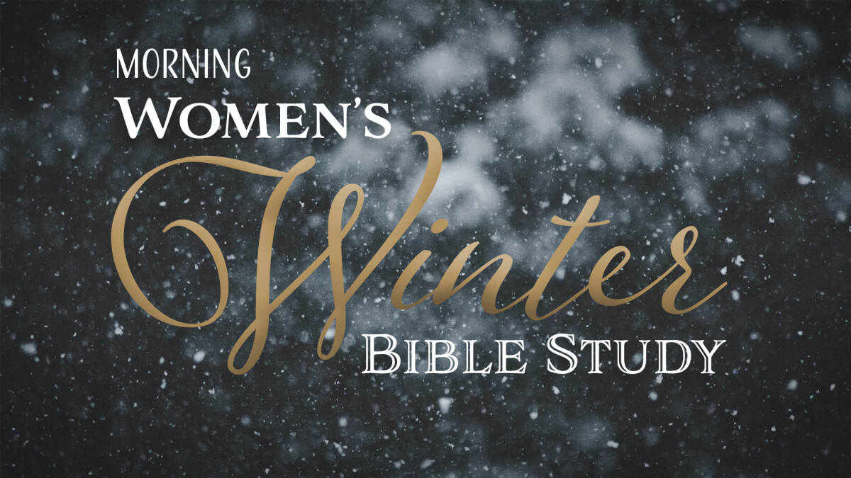 Women's Morning Winter Bible Study (ZOOM Available)